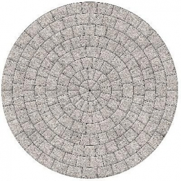 Drivesett Argent Circle 2.6m Dia Light