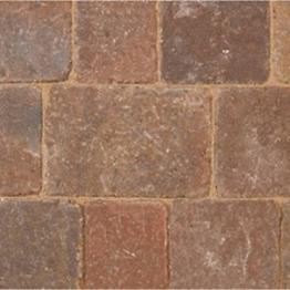 Bradstone Woburn Rumbled Concrete Block Paving Kerb Rustic 200mm X 100mm X 125mm