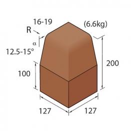 Marshalls Keykerb Kl Hb Angle External Brindle