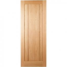 Hardwood Oak Ripon 3 Panel Internal Door Height 1981mm
