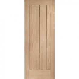 Hardwood Oak Suffolk Internal Door 1981mm X 686mm X 35mm