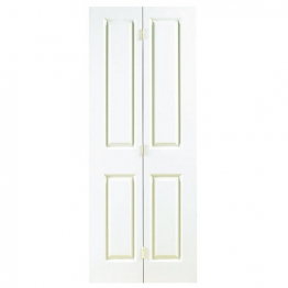 Internal Moulded 4panel Smooth Hollow Core Door Bi-fold