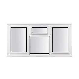 Stormsure Softwood Plain Casement 24mm Fully Glazed Window 1765 X 1045mm Lew310cvc
