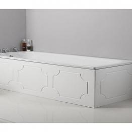 Tavistock Milton Wood 700mm End Bath Panel White O317