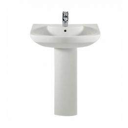 Roca 327511000 Senso Basin 1 Tap Hole 650mm X 530mm Basin Only