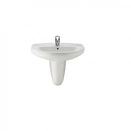Roca A336312005 Laura Semi-pedestal For 520mm, 560mm & 600mm Basin White