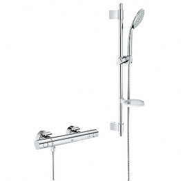 Grohe Grohtherm 1000 Cosmo Shower And Euphoria 600mm