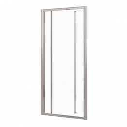 Novellini Lunes S 84 Folding Door Adjustment Size 84-90cm Glass Silver