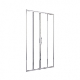 Novellini Lunes2a156-1k Lunes Chrome Door