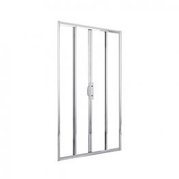 Novellini Lunes2a166-1k Lunes Chrome Door