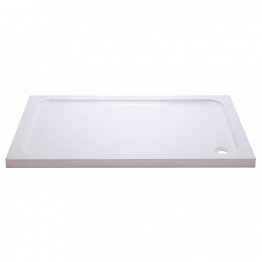 Iflo 1600 X 800 Mm Abs Capped Slimline Stone Shower Tray