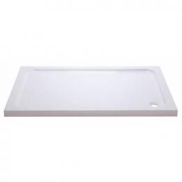Iflo 1600 X 800 Mm Abs Capped Slimline Stone Shower Tray