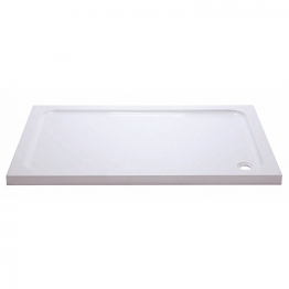 Iflo 1000 X 900 Mm Abs Capped Slimline Stone Shower Tray
