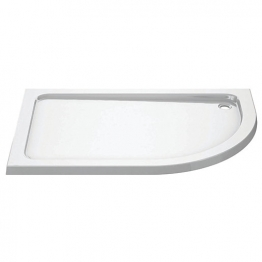 Iflo 1200 X 900 Mm Right Hand Offset Quadrant Abs Slimline Shower Tray