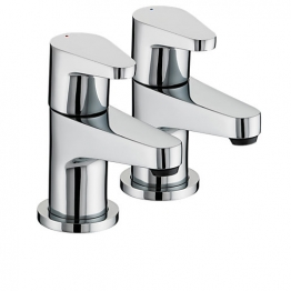 Bristan Quest Bath Taps Chrome Qst3/4c