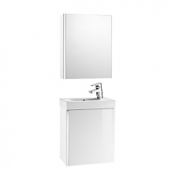 Mini 855866806 Pack With Mirror Cabinet White