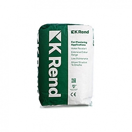 K1 Render Spray Ivory Scraped Textured Finish