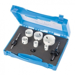 Punk Holesaw Set Plumbers - 9 Piece Set