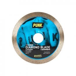 Punk 115mm Ceramic Sintered Cut Rim Diamond Blade