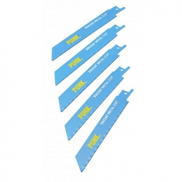 Punk 225mm Rescue Blade 4mm-12mm Reciprocating Blade Pack Of 5 S1120cf