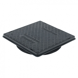 Osmadrain Drainage Square Chamber Cover And Frame To Suit 450mm Diameter Chamber