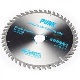 Punk Circular Saw Blade 210mm X 48t X 30mm Atb