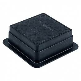 Osmadrain Drainage Square Rodding Eye 110mm