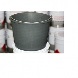 Fibre Glass Black Bucket 14ltr
