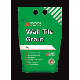 Norcros Flexible Floor & Wall Grout Grey 10kg