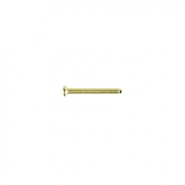 4 Trade Electrical Screw Standard 30mm Brass Pack Of 50