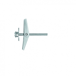Rawlplug Metal Spring Toggle + Screw 80mm X 14mm Pack Of 6