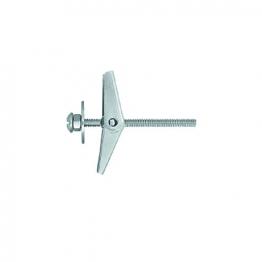 Rawlplug Metal Spring Toggle + Screw 50mm X 12mm Pack Of 25