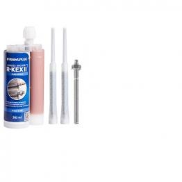 Rawlplug Resin Studs (inc Nuts & Washers) 8mm X 110mm Pack Of 5