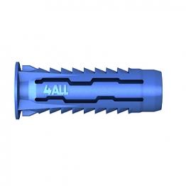 Rawlplug Universal 4all 10mm Nylon Plug Bag Of 25