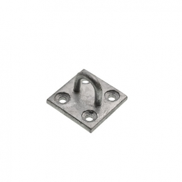 4trade Staple On Plate 50 X 50mm Galvanised (pack Of 1)