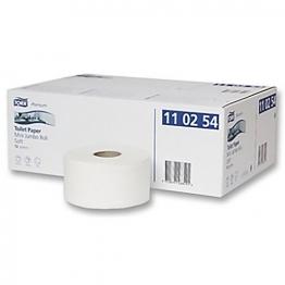 Rbk Toilet Roll Mini Jumbo Roll 2ply White 150m X 92mm (pack Of 12)
