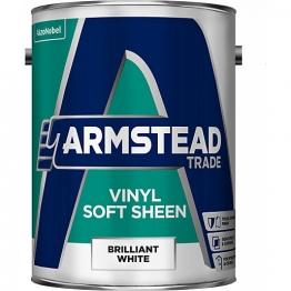 Glidden Vinyl Soft Sheen Emulsion Paint Brilliant White 5l