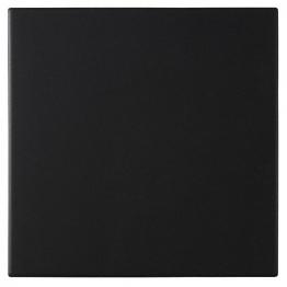 Dorset Dw-flblk1515 Woolliscroft Plain Black Porcelain Quarry Tiles 148mm X 148mm X 9mm