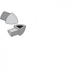 Genesis 8mm P/c Round Edge Trim Corner Pieces External 4 Pack Eac080.91