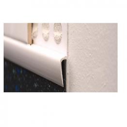 Genesis 15 X 8mm White Vinyl/tile Capping Efu080.01