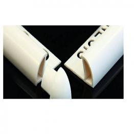 Genesis 6mm White Plastic Trim Corner Pieces External Pack Of 100 Pdm603.01