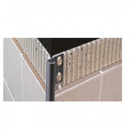 Genesis 8mm Polished Chrome Round Edge Tile Trim Eaq080.91