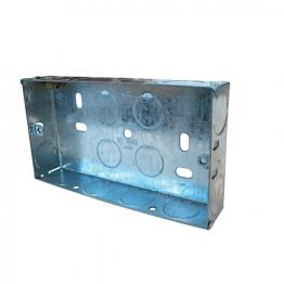 Mk 2 Gang 47mm Flush Metal Box 878zic