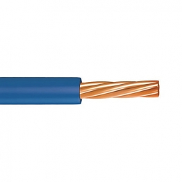 Single Core Low Smoke Zero Halogen Conduit 4.0mm 6491b Blue 100m