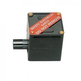 Mk Egatube Eeb1blk Conduit 75mm X 75mm X 70mm Earth Electrode Box Black