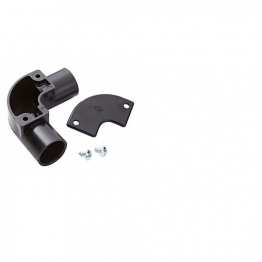 Mk Egatube 20mm Conduit Inspection Elbow Black Eie2bqblk