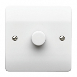 Mk Dimmer Switch 1 Gang 250w 2 Way K1534whi