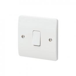 Mk Light Switch 1 Gang 10a 2 Way K4871whi
