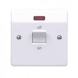 Mk Logic Plus 32a Dp Switch With Neon K5105rpwhi