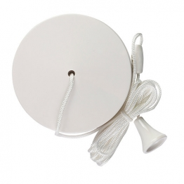 Volex White Moulded 6ax 2 Way Pull Cord Ceiling Switch